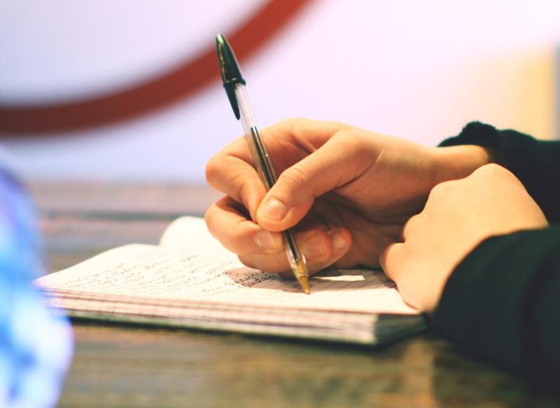 Hand-Writing-Notebook