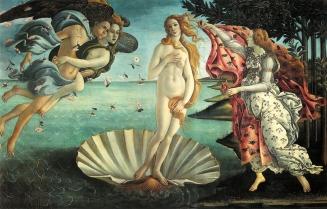La Nascita di Venere - Trittico Botticelliano