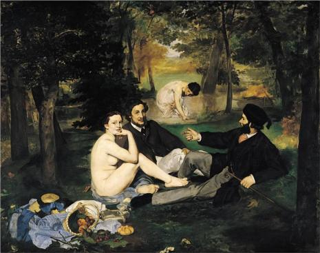 The Luncheon on the Grass - Édouard Manet