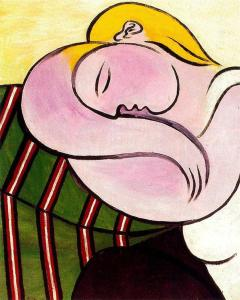 Woman With Yellow Hair - Pablo Picasso