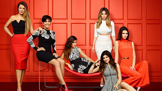 Keeping up with the Kardashians Red