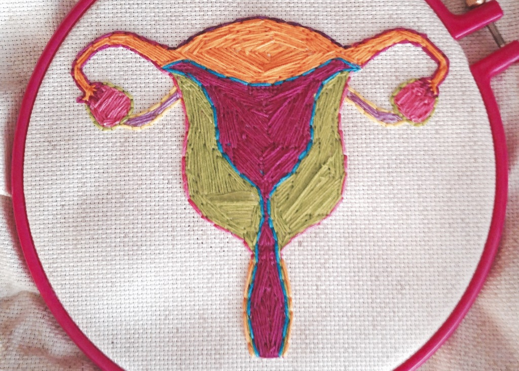 Uterus-Cross-Stitch
