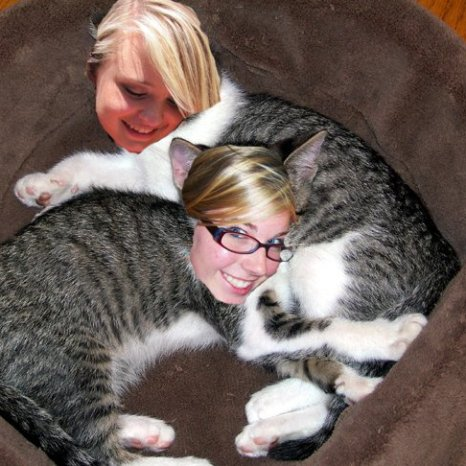 Erin and MK Cats