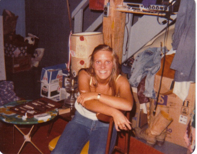 Megan Cox Mom as a twentysomething