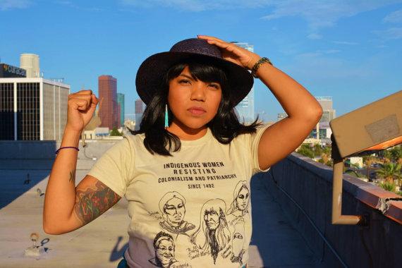 indigenous-women-resist-tshirt