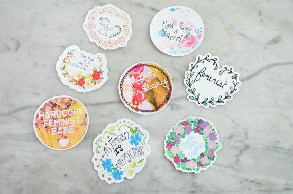 sticker-set-fabulously-feminist