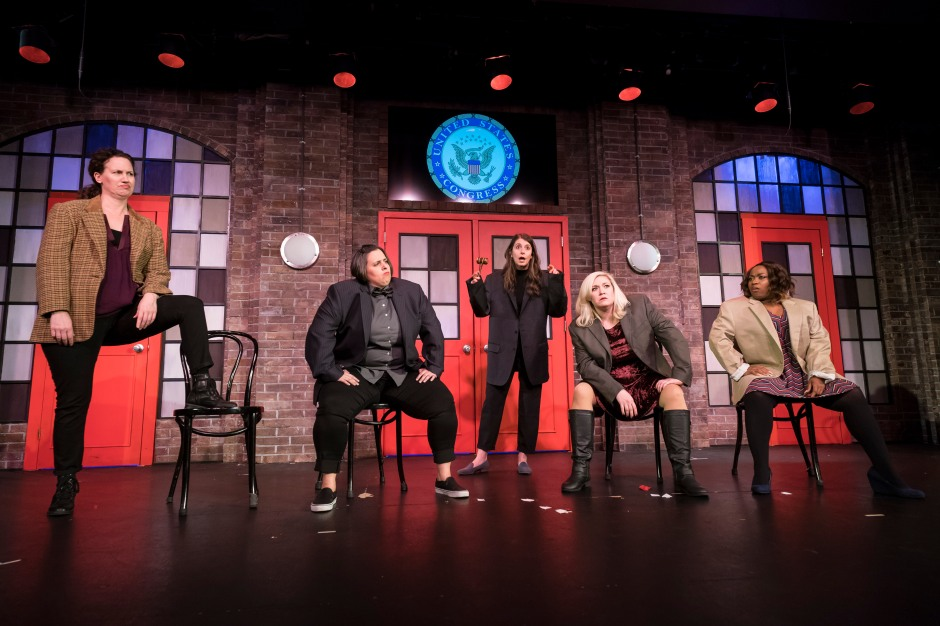 The cast of She The People, The Second City's first all woman run show.