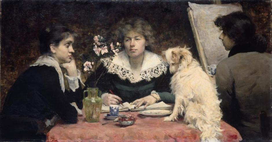 Louise-Catherine-Breslau-The-Friends