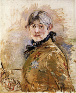 Self-Portrait-Berthe-Morisot